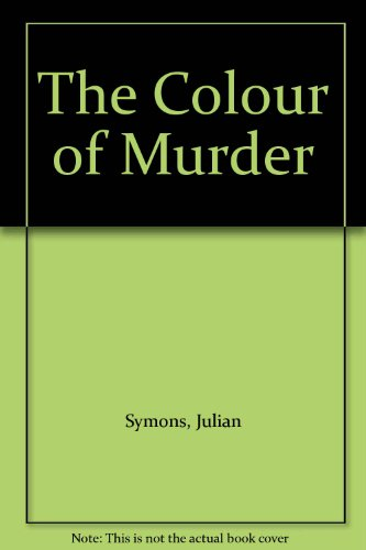 9780333466353: The Colour of Murder