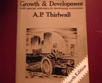 9780333466629: Growth and Development: With Special Reference to Developing Countries