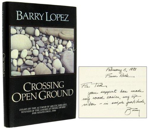 9780333469439: Crossing Open Ground