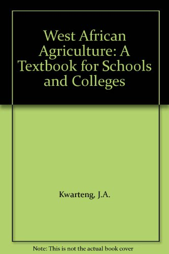 9780333470305: West African Agriculture: A Textbook for Schools and Colleges