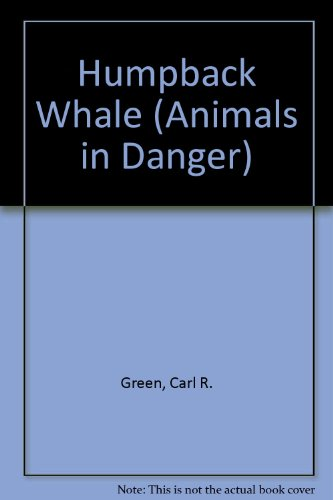 9780333470398: Humpback Whale (Animals in Danger)