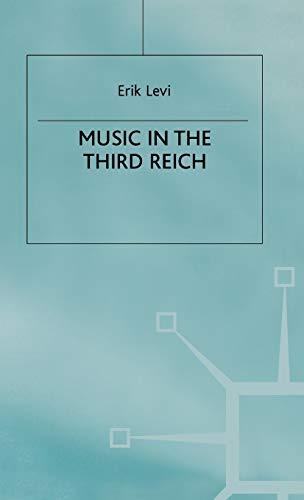 9780333471166: Music in the Third Reich