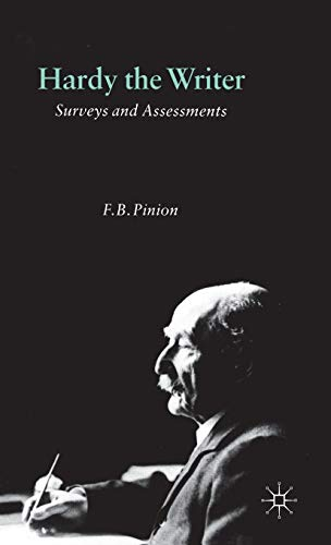 9780333473627: Hardy the Writer: Surveys and Assessments