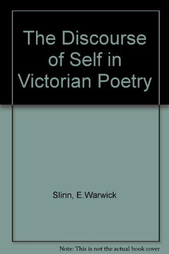 9780333474129: The Discourse of Self in Victorian Poetry