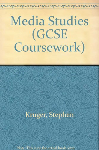 9780333476338: Media Studies (GCSE Coursework)