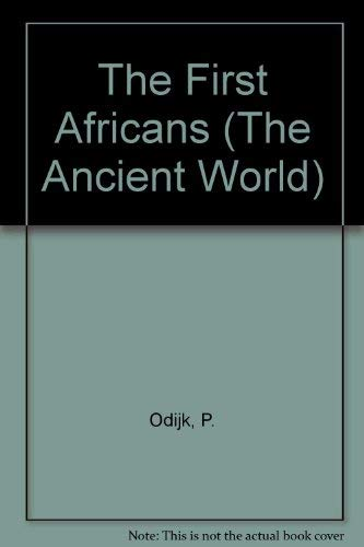 9780333477793: The First Africans (The Ancient World)
