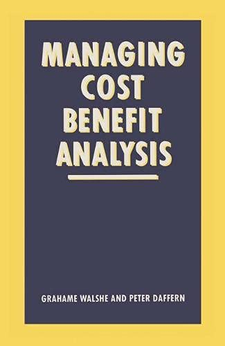 9780333480380: Managing Cost-benefit Analysis