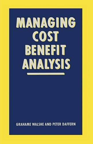 9780333480397: Managing Cost-Benefit Analysis