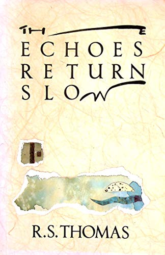 9780333482810: The Echoes Return Slow