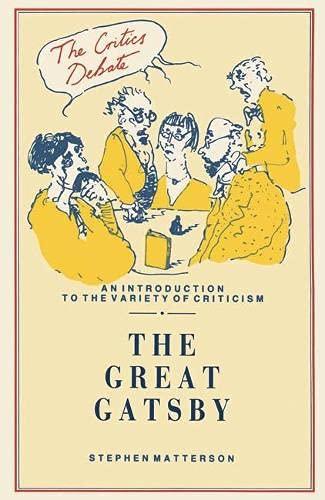 9780333483060: The Great Gatsby (Critics Debate)