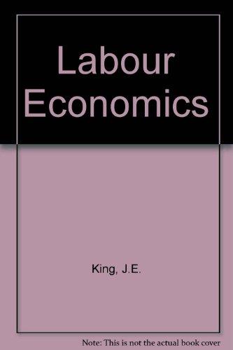 9780333483152: Labour Economics