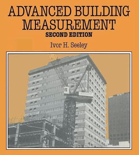 9780333485422: Advanced Building Measurement (Macmillan Building and Surveying Series) (Building & Surveying)