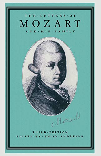 9780333485453: The Letters of Mozart and his Family