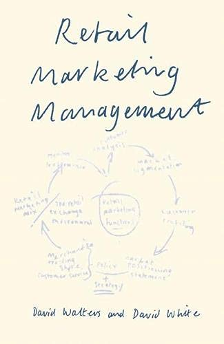 9780333485804: Retail Marketing Management
