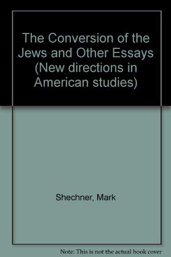 9780333485897: The Conversion of the Jews and Other Essays (New directions in American studies)