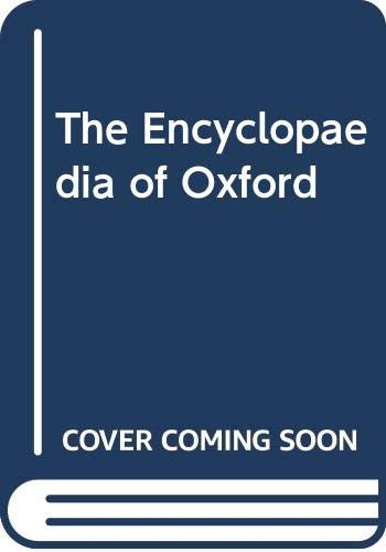 9780333486146: The Encyclopaedia Of Oxford