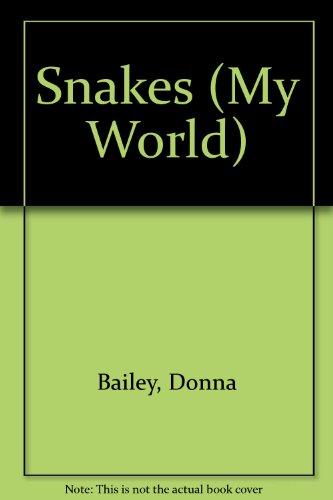 9780333486702: Snakes (My World)