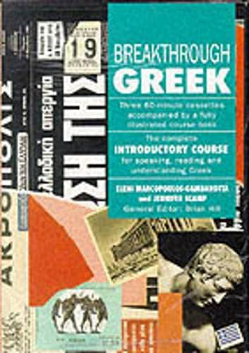 9780333487143: Breakthrough Greek (Breakthrough Language Courses)