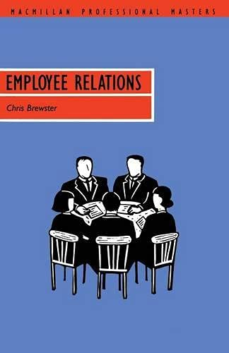 Employee Relations: Brewster, Chris