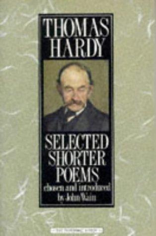 9780333488799: Selected Shorter Poems