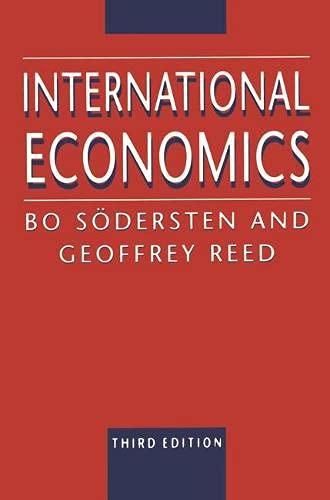 9780333489819: International Economics