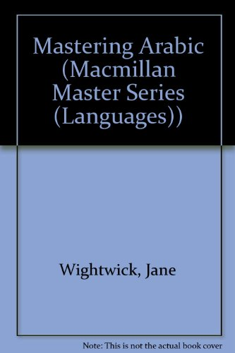 9780333490389: Mastering Arabic (Macmillan Master Series (Languages))