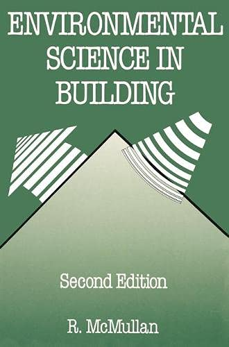 9780333491164: Environmental Science in Building (Building & Surveying)