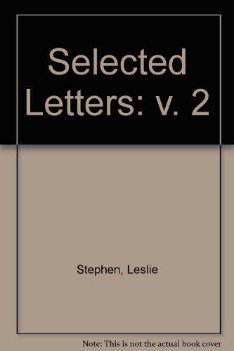 9780333492185: Selected Letters: v. 2