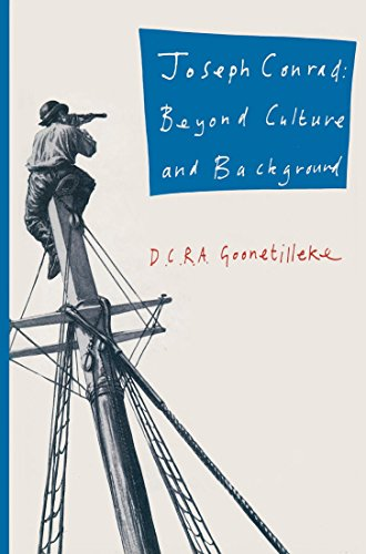 9780333492956: Joseph Conrad: Beyond Culture and Background