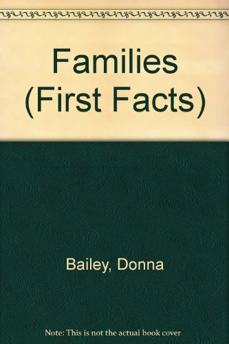9780333493175: Families (First Facts)