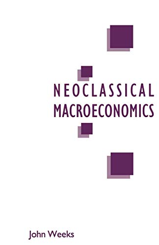 9780333493823: A Critique of Neoclassical Macroeconomics