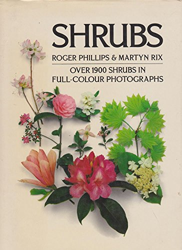 9780333494790: Shrubs