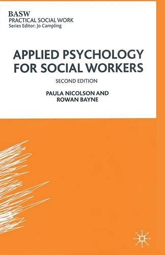 9780333495025: Applied Psychology for Social Workers (Practical Social Work Series)