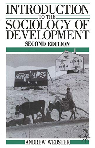 9780333495087: Introduction to the Sociology of Development