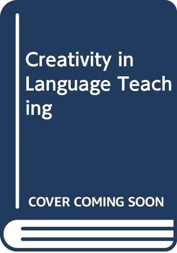 9780333495117: Creativity in Language Teaching
