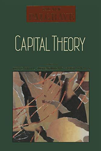 9780333495476: Capital Theory