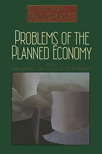 9780333495490: Problems of the Planned Economy