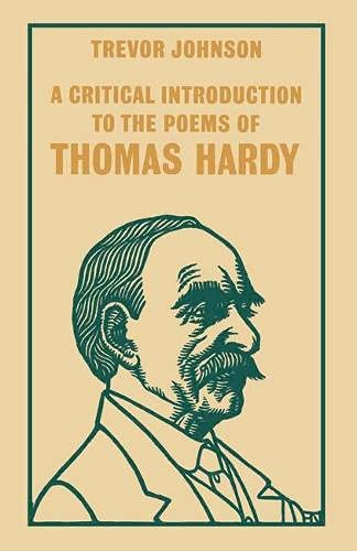 9780333495773: A Critical Introduction to the Poems of Thomas Hardy