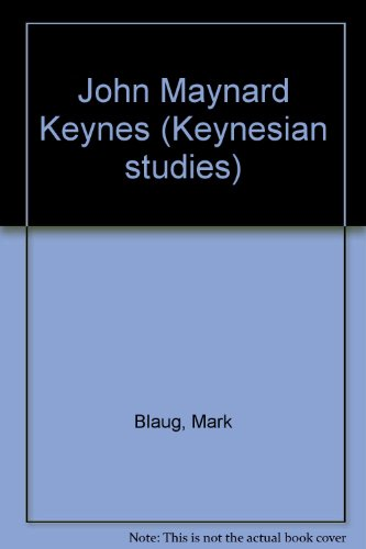 9780333496527: John Maynard Keynes (Keynesian studies)
