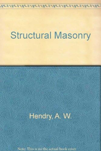 9780333497487: Structural Masonry