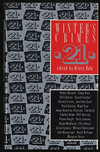 9780333510957: Winter's Crimes: No. 21