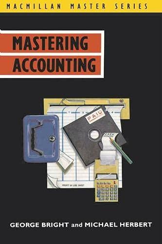9780333511978: Mastering Accounting