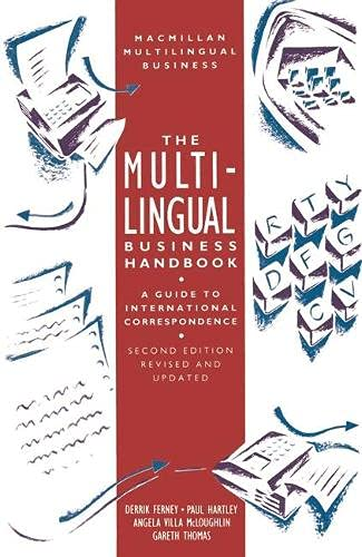 9780333512494: The Multilingual Business Handbook: Guide to International Correspondence (Macmillan multilingual business series)