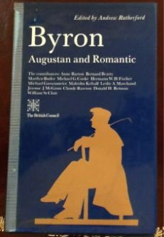 9780333517239: Byron: Augustan and Romantic