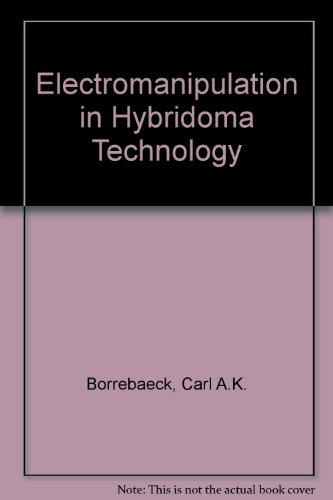 9780333518069: Electromanipulation in Hybridoma Technology