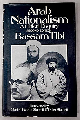 9780333518465: Arab Nationalism: A Critical Enquiry