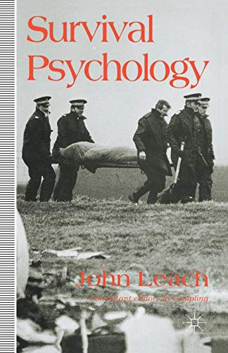9780333518557: Survival Psychology