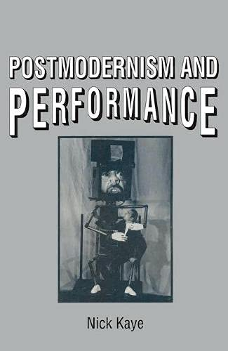 9780333519172: Postmodernism and Performance