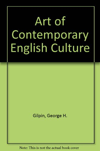 9780333519318: The art of contemporary English culture