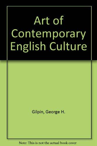 9780333519318: Art of Contemporary English Culture